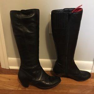 B.O.C. Born Original Concept Black Knee-High Boots